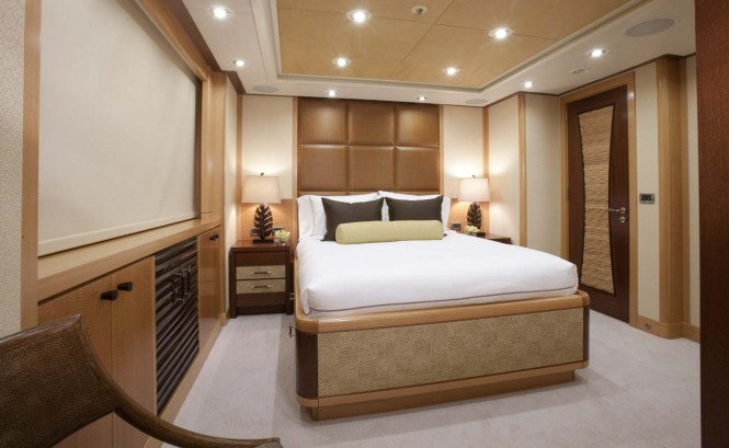 Yacht ARIANNA -  Port Aft Queen Cabin